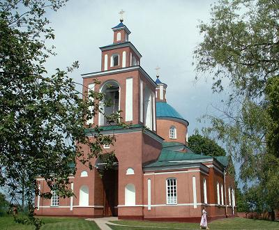 Церковь Иконы Божией Матери Знамение в Красном Кутке (с сайта temples.ru)